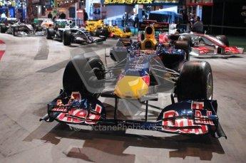 © Octane Photographic Ltd. Autosport International 2011, January 15th 2011. F1 Racing display, Red Bullk showcar. Digital ref : 0045f1-display-5