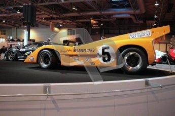 World © Octane Photographic 2010. © Octane Photographic 2011. Autosport International 2011. McLaren Display. M8D. Digital ref : 0026CB1D5203
