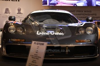 World © Octane Photographic 2010. © Octane Photographic 2011. Autosport International 2011. McLaren Display. McLaren F1 GTR Le Mans winner. Digital ref : 0026CB1D5203