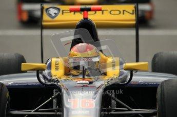 © Octane Photographic Ltd. 2011. Belgian Formula 1 GP, GP2 Race 2 - Sunday 28th August 2011. Super Nova driver Fairuz Fauzy heading out to the grid from the pits. Digital Ref : 0205cb1d0048