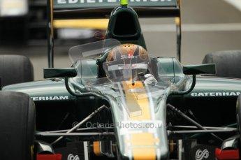 © Octane Photographic Ltd. 2011. Belgian Formula 1 GP, GP2 Race 2 - Sunday 28th August 2011. Davide Valsecchi of Caterham Racing AirAisa. Digital Ref : 0205cb1d0062