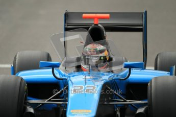 © Octane Photographic Ltd. 2011. Belgian Formula 1 GP, GP2 Race 2 - Sunday 28th August 2011. Brendon Hartley of Ocean Racing lines up in the pits. Digital Ref : 0205cb1d0150