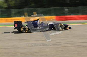 © Octane Photographic Ltd. 2011. Belgian Formula 1 GP, GP2 Race 2 - Sunday 28th August 2011. Adam Carroll of Super Nova racing, going into La Source. Digital Ref : 0205cb7d0069