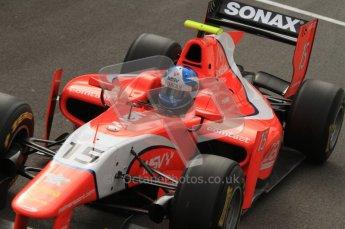 © Octane Photographic Ltd. 2011. Belgian Formula 1 GP, GP2 Race 2 - Sunday 28th August 2011. Jolyon Palmer of Arden International cockpit shot. MSV sponsored car. Digital Ref : 0205lw7d6877