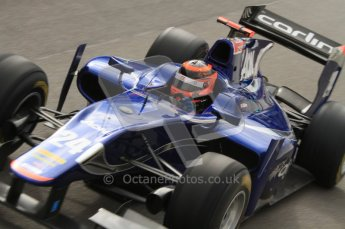 © Octane Photographic Ltd. 2011. Belgian Formula 1 GP, GP2 Race 2 - Sunday 28th August 2011. Max Chilton of Carlin heads out to the grid from the pits. Digital Ref : 0205lw7d6892