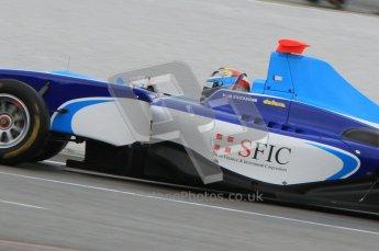 World © Octane Photographic Ltd. 2011. Belgian GP, GP3 Practice session - Saturday 27th August 2011. Marlon Stockinger of Atech CRS GP cockpit shot. Digital Ref : 0204lw7d3692