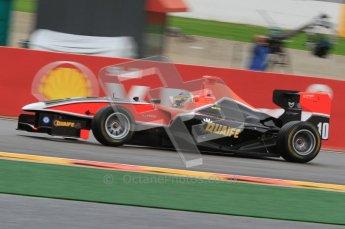 World © Octane Photographic Ltd. 2011. Belgian GP, GP3 Practice session - Saturday 27th August 2011. Adrian Quaife-Hobbs of Marussia Manor Motorsport. Digital Ref : 0204lw7d3705