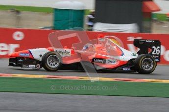 World © Octane Photographic Ltd. 2011. Belgian GP, GP3 Practice session - Saturday 27th August 2011. Mitch Evans of MW Arden. Digital Ref : 0204lw7d3721