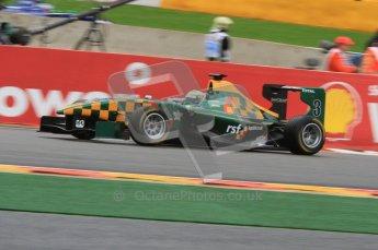 World © Octane Photographic Ltd. 2011. Belgian GP, GP3 Practice session - Saturday 27th August 2011. James Calado of Lotus ART. Digital Ref : 0204lw7d3749