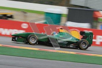 World © Octane Photographic Ltd. 2011. Belgian GP, GP3 Practice session - Saturday 27th August 2011. Richie Stanaway of Lotus ART.  Digital Ref : 0204lw7d3753