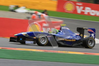 World © Octane Photographic Ltd. 2011. Belgian GP, GP3 Practice session - Saturday 27th August 2011. Callum MacLeod of Carlin. Digital Ref : 0204lw7d3757