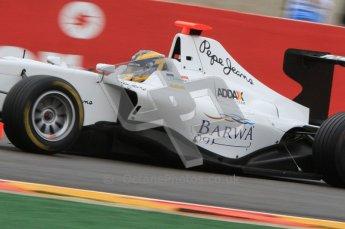 World © Octane Photographic Ltd. 2011. Belgian GP, GP3 Practice session - Saturday 27th August 2011. Tom Dillmann of Addax Team. Digital Ref : 0204lw7d3803