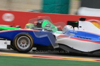World © Octane Photographic Ltd. 2011. Belgian GP, GP3 Practice session - Saturday 27th August 2011. Alex Fontana of Jenzer Motorsport. Digital Ref : 0204lw7d3841