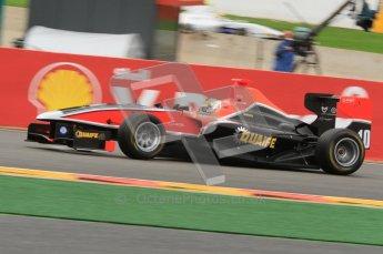 World © Octane Photographic Ltd. 2011. Belgian GP, GP3 Practice session - Saturday 27th August 2011.  Adrian Quaife-Hobbs of Marussia Manor Racing. Digital Ref : 0204lw7d3890