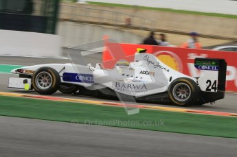 World © Octane Photographic Ltd. 2011. Belgian GP, GP3 Practice session - Saturday 27th August 2011.  Gabriel Chaves of Addex Team. Digital Ref : 0204lw7d3901