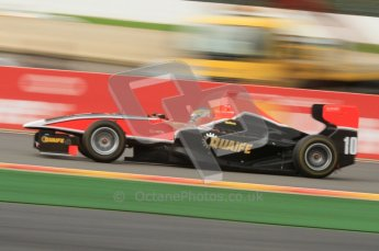 World © Octane Photographic Ltd. 2011. Belgian GP, GP3 Practice session - Saturday 27th August 2011. Adrian Quaife-Hobbs of Marussia Manor Motors. Digital Ref : 0204lw7d3931