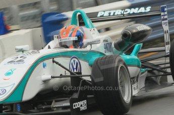 © Octane Photographic 2011 – British Formula 3 - Donington Park - Race 2. 25th September 2011, Jazeman Jaafar - Carlin - Dallara F308 Volkswagen. Digital Ref : 0186lw1d6488