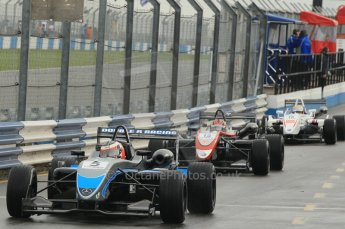 © Octane Photographic 2011 – British Formula 3 - Donington Park - Race 2. 25th September 2011. Digital Ref : 0186lw1d6542