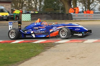 © Octane Photographic 2010. British Formula 3 Easter weekend April 3rd 2010 - Oulton Park, Adriano Buzzaid - Carlin. Digital Ref. 0049CB1D6346