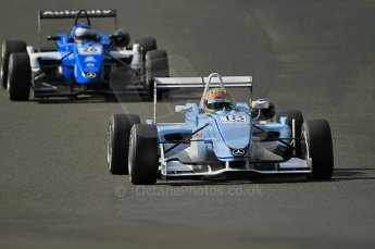 © Octane Photographic 2010. British Formula 3 Easter weekend April 3rd 2010 - Oulton Park, Adderly Fong - Sino Vision Racing chased by Carlos Heurtas - Raikkonen Robertson Racing. Digital Ref. 0049CB7D0318