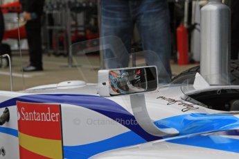 World © Octane Photographic Ltd. 2011. British GP, Silverstone, Friday 8th July 2011. GP2 Practice Session Pit Lane. Giedo Van der Garde - Barwa Addax Team Digital Ref: 0107LW7D4480