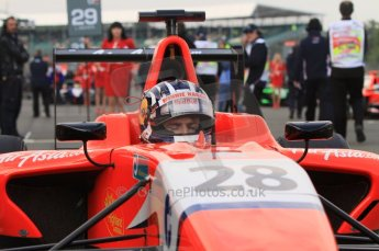 World © Octane Photographic Ltd. 2011. British GP, Silverstone, Sunday 9th July 2011. GP3 Race 2. Digital Ref: 0111LW7D6676