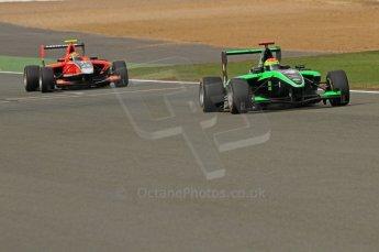World © Octane Photographic Ltd. 2011. British GP, Silverstone, Sunday 9th July 2011. GP3 Race 2. Digital Ref: 0111LW7D7051