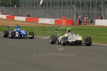 World © Octane Photographic Ltd. 2011. British GP, Silverstone, Sunday 9th July 2011. GP3 Race 2. Digital Ref: 0111LW7D7108