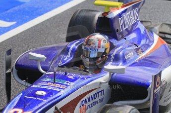 World © Octane Photographic Ltd. 2011. British GP, Silverstone, Saturday 9th July 2011. GP2 Race 1. Stefano Coletti - Trident Racing  Digital Ref: 0109LW7D6292