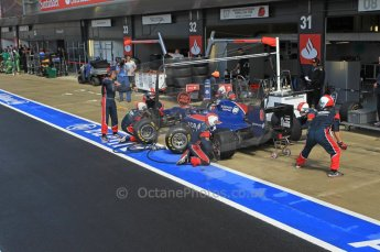 World © Octane Photographic Ltd. 2011. British GP, Silverstone, Saturday 9th July 2011. GP2 Race 1. Sam Bird - iSport International Pit Stop. Digital Ref: 0109LW1D2466