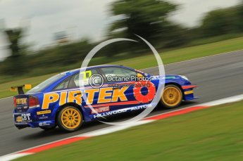 © Octane Photographic Ltd. 2011. British Touring Car Championship – Snetterton 300, Andrew Jordan - Vauxhall Vectra - Pirtek Racing. Saturday 6th August 2011. Digital Ref : 0121CB1D2988
