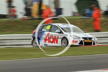 © Octane Photographic Ltd. 2011. British Touring Car Championship – Snetterton 300, Andy Neate - Ford Focus - Team Aon. Saturday 6th August 2011. Digital Ref : 0121CB7D9804