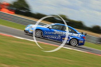 © Octane Photographic Ltd. 2011. British Touring Car Championship – Snetterton 300, Jason Plato - Chevrolet Cruze - Silverline Chevrolet. Sunday 7th August 2011. Digital Ref : 0124CB7D0045
