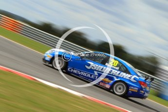 © Octane Photographic Ltd. 2011. British Touring Car Championship – Snetterton 300, Alex MacDowell - Chevrolet Cruze - Silverline Chevrolet. Sunday 7th August 2011. Digital Ref : 0124CB7D0050