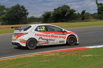 © Octane Photographic Ltd. 2011. British Touring Car Championship – Snetterton 300, Sunday 7th August 2011. Matt Neal - Honda Civic - Honda Racing Team. Digital Ref : 0124LW7D0206