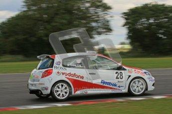 © 2011 Octane Photographic Ltd. Clio Cup - Snett - 6th August 2011. Nicholas Hamilton. Digital Ref : 0224lw7d0363