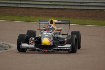 World © Octane Photographic Ltd/ Carl Jones. Daniil Kvyat Formula Renault 2.0 - Rockingham 12th November 2011 Digital ref : 0876cjsony05611.jpg