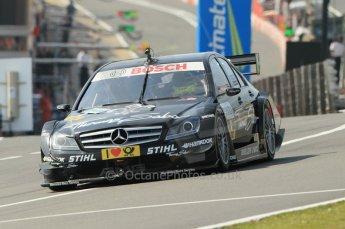 © Octane Photographic Ltd. 2011. DTM Round 7– Brands Hatch. Practice 2. Friday 2nd September 2011. Digital Ref : 0172CB1D1677