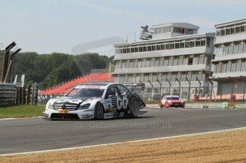 © Octane Photographic Ltd. 2011. DTM Round 7– Brands Hatch. Practice 2. Friday 2nd September 2011. Digital Ref : 0172CB7D1605
