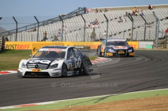 © Octane Photographic Ltd. 2011. DTM Round 7– Brands Hatch. Practice 2. Friday 2nd September 2011. Digital Ref : 0172CB7D1754