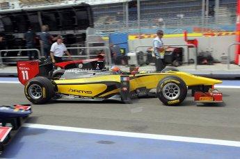 © Octane Photographic Ltd. 2011. European Formula1 GP, Friday 24th June 2011. GP2 Practice. Romain Grosjean - Dams. Digital Ref: 0082CB1D6259