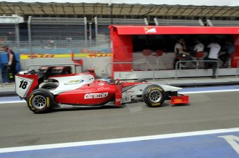 © Octane Photographic Ltd. 2011. European Formula1 GP, Friday 24th June 2011. GP2 Practice. Michael Herck - Scuderia Coloni. Digital Ref: 0082CB1D6267