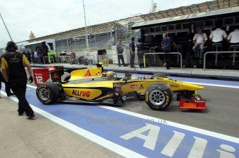 © Octane Photographic Ltd. 2011. European Formula1 GP, Friday 24th June 2011. GP2 Practice. Pal Varhaug - Dams. Digital Ref: 0082CB1D6275