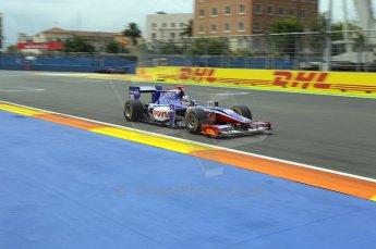 © Octane Photographic Ltd. 2011. European Formula1 GP, Friday 24th June 2011. GP2 Practice. Rodolfo Gonzalez - Trident Racing. Digital Ref: 0082CB1D6286