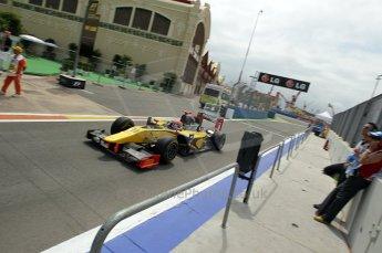© Octane Photographic Ltd. 2011. European Formula1 GP, Friday 24th June 2011. GP2 Practice. Romain Grosjean - Dams. Digital Ref: 0082CB1D6321
