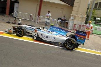© Octane Photographic Ltd. 2011. European Formula1 GP, Friday 24th June 2011. GP2 Practice. Giedo Van der Garde - Barwa Addax Team. Digital Ref: 0082CB1D6353