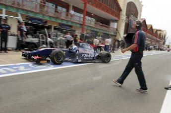 © Octane Photographic Ltd. 2011. European Formula1 GP, Friday 24th June 2011. GP2 Practice. Digital Ref: 0082CB1D6434
