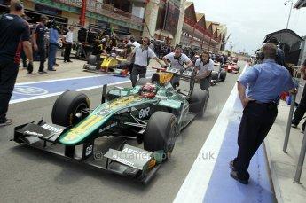 © Octane Photographic Ltd. 2011. European Formula1 GP, Friday 24th June 2011. GP2 Practice. Jules Bianchi - Lotus ART. Digital Ref: 0082CB1D6473