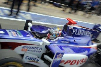 © Octane Photographic Ltd. 2011. European Formula1 GP, Friday 24th June 2011. GP2 Practice. Rodolfo Gonzalez - Trident Racing. Digital Ref: 0082CB1D6524