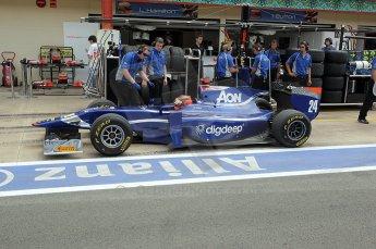 © Octane Photographic Ltd. 2011. European Formula1 GP, Friday 24th June 2011. GP2 Practice. Max Chilton - Carlin. Digital Ref: 0082CB1D6584